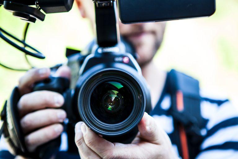 Video-animatie-visual-camera